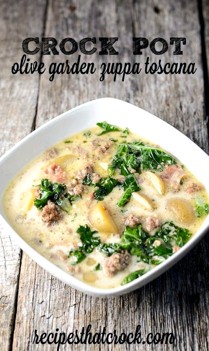 Olive garden zuppa toscana recipe soup - Olive garden zuppa toscana crock pot ...