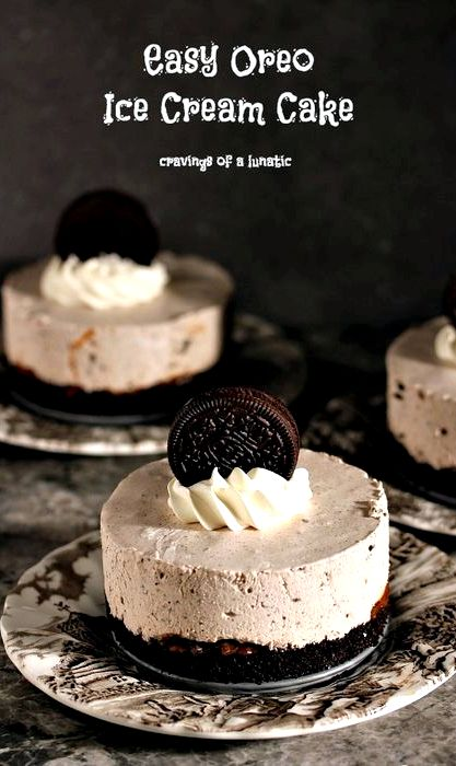 Oreo Ice Cream Cake Recipe Springform Pan