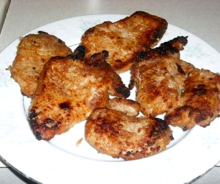 Oven roasted boneless pork chop recipe