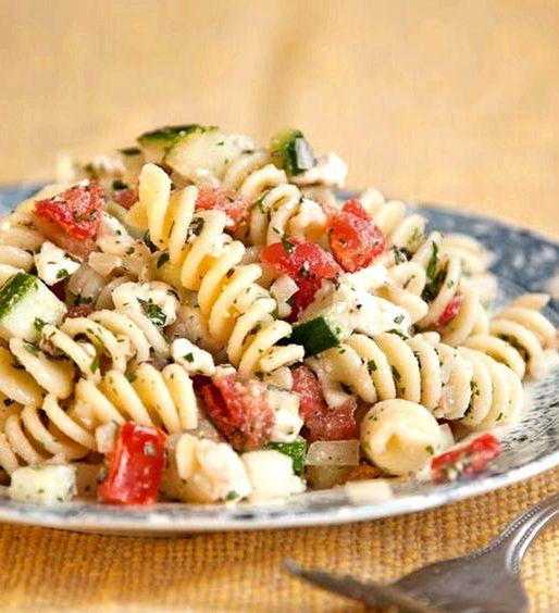 Pasta salad recipe olive oil vinegar