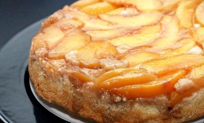 Peach Upside Down Cake Recipe With Cake Mix