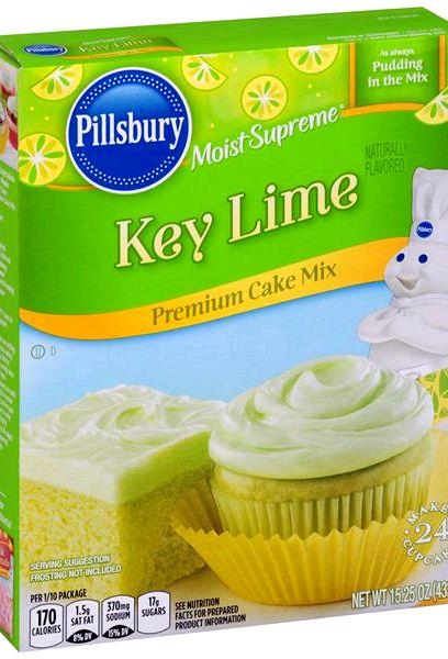 Pillsbury Lime Cake Mix