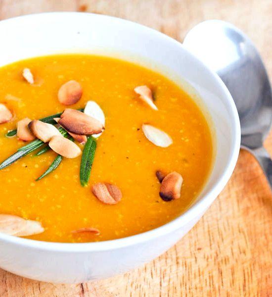 Pumpkin Soup Recipe Made From Fresh Pumpkin