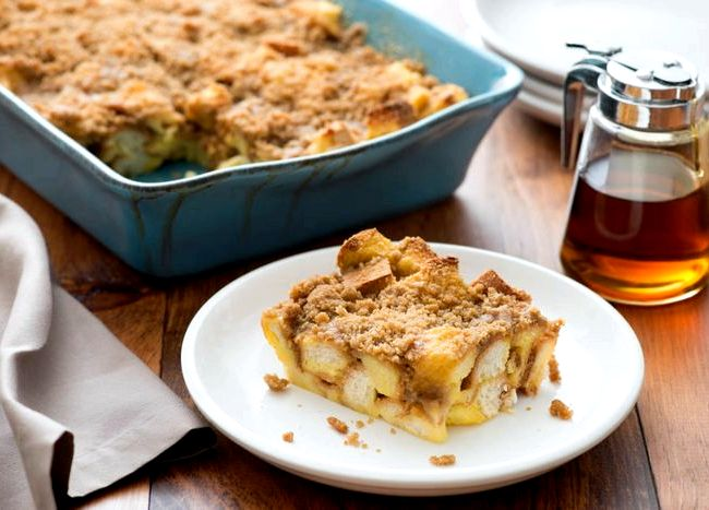 Quick and easy french toast casserole recipe