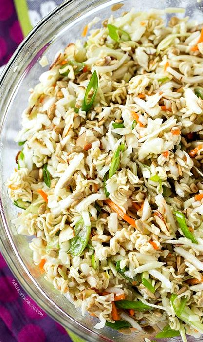 Ramen chicken cabbage salad recipe