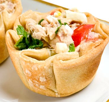Ready to eat tuna salad with crackers recipe