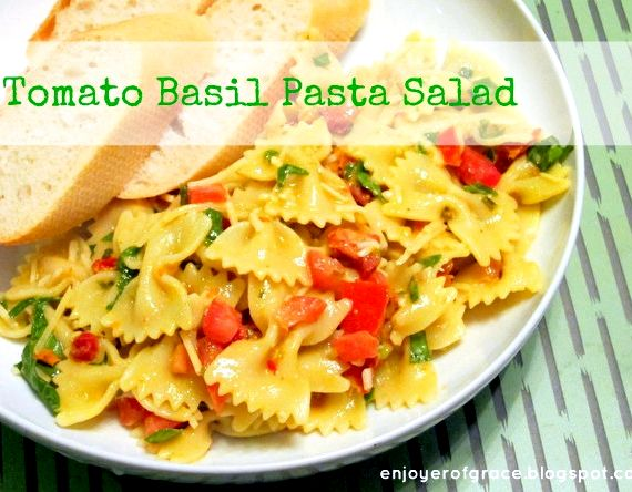 Recipe cold pasta salad basil