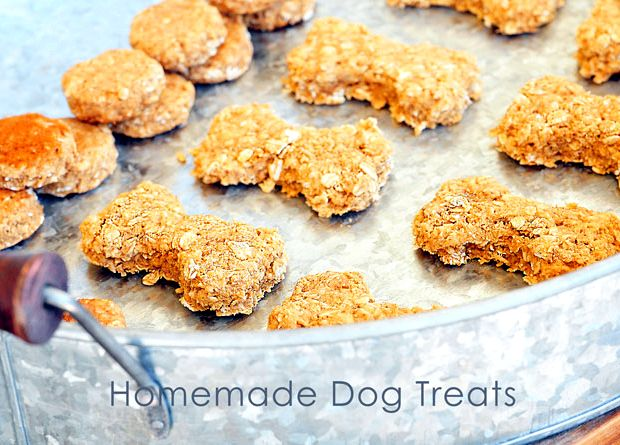 how to make your own dog treats recipes