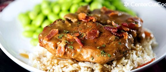 Recipe for slow roasted pork chops
