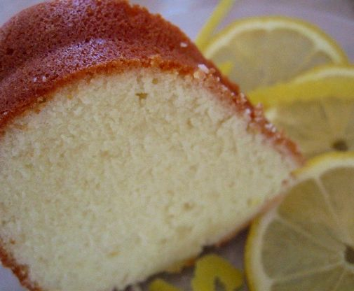 Recipe lemon pound cake sour cream