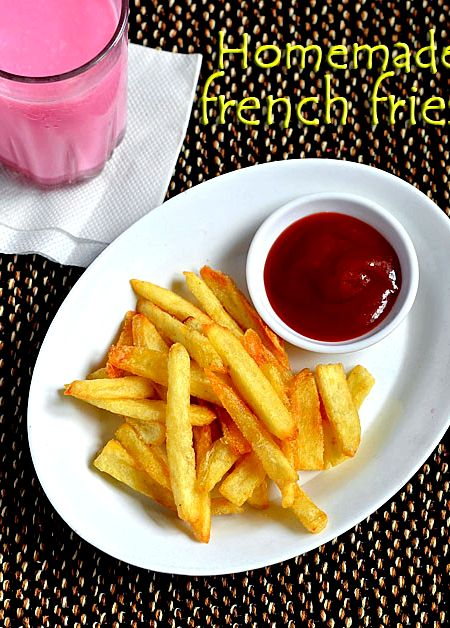 Recipe To Make French Fries In Microwave