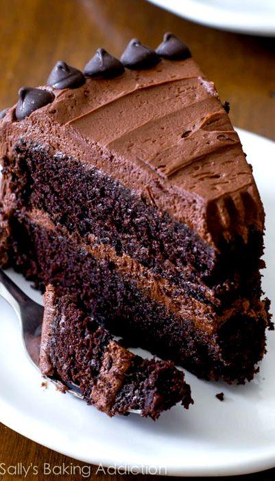 Rich moist chocolate cake recipe scratch
