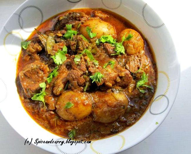 Rick stein fish curry bangladeshi recipe murgi for Rick s fish and pet