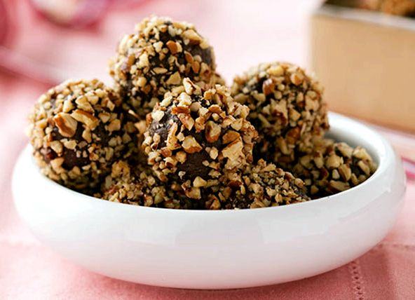Rum balls recipe chocolate sprinkles nutrition