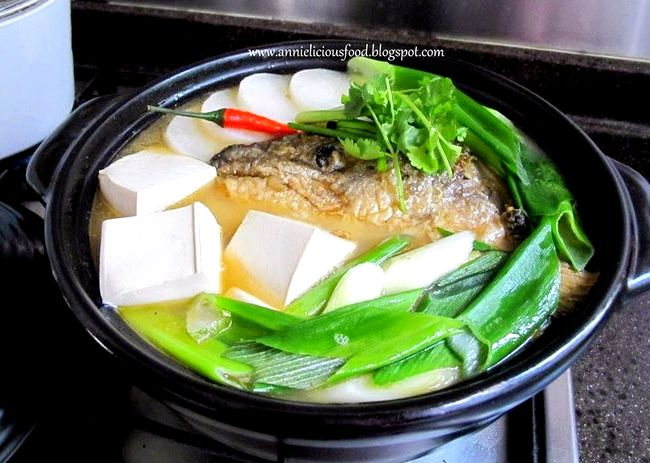 Salmon fish bone stock recipe