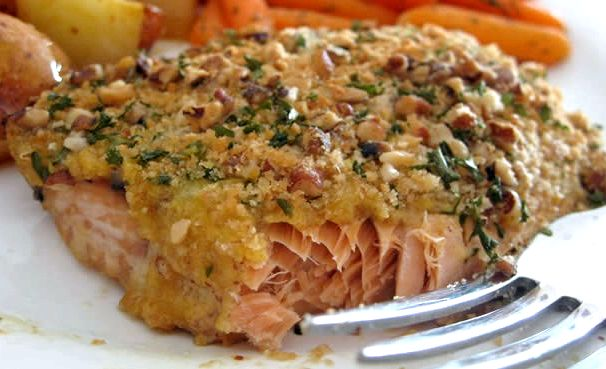 Salmon recipe baked healthy salmon