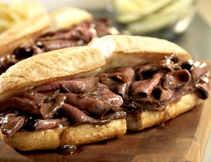 Sandwich style roast beef recipe