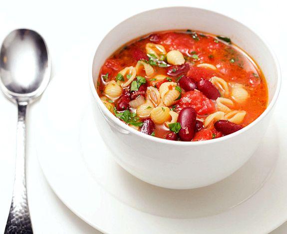 Суп с бобами