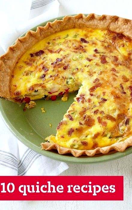 Smothered chicken recipe bacon cheese quiche
