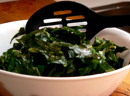 Soul Food Collard Greens Recipe With Salt Pork