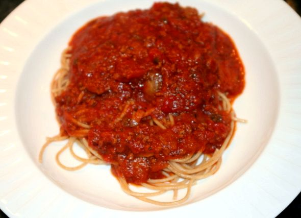Spaghetti sauce recipe made from scratch