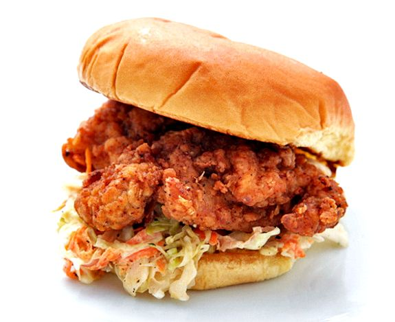Spicy southern fried chicken burger recipe