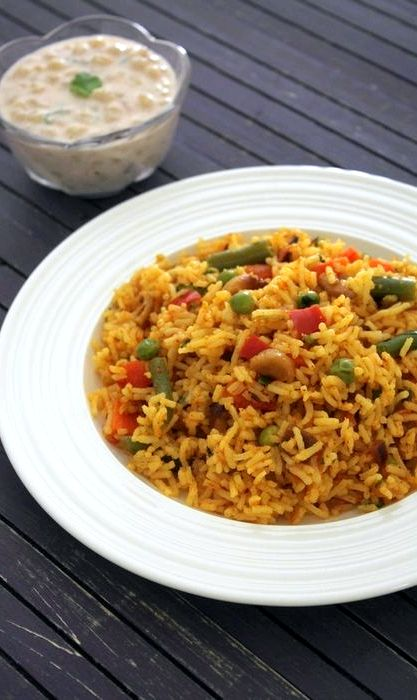Spicy veg pulao recipe video
