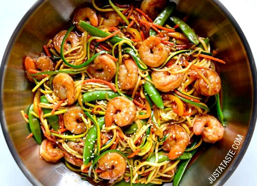 Stir fried noodles recipe prawns