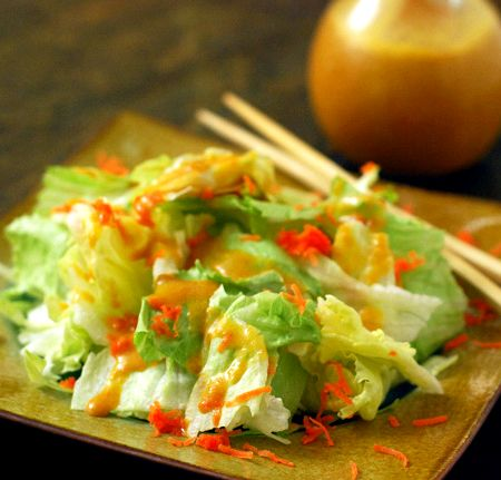Sushi japanese ginger dressing recipe