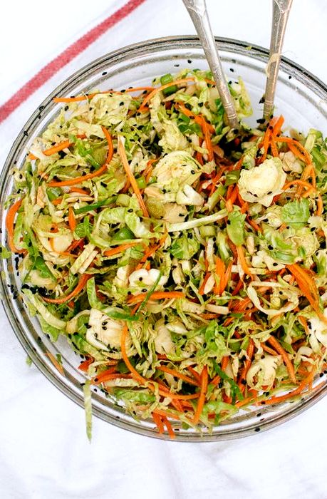 Sweet brussel sprouts slaw recipe