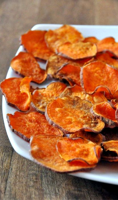 Sweet potato chips baked in oven recipe