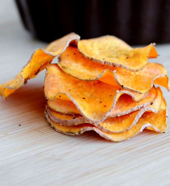 Sweet potato chips microwave recipe