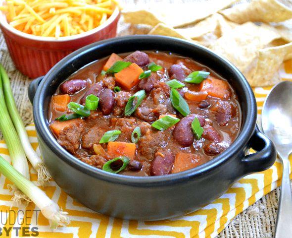 Sweet potato chorizo stew recipe