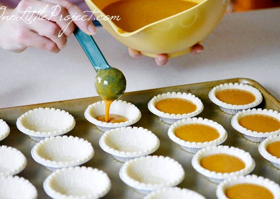 Tart Shell Recipe Mini Pumpkin