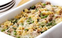 Alfredo noodles and tuna fish recipe