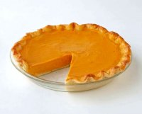 American sweet pumpkin pie recipe