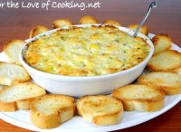 Artichoke dip recipe made with cheddar cheese