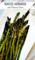 Asparagus olive oil parmesan cheese recipe