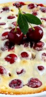 Authentic french clafouti recipe cherry
