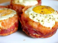 Bacon and egg muffins breakfast recipe