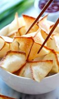 Baked cream cheese wonton cups recipe