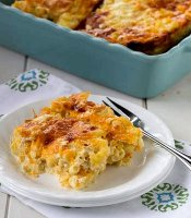 Baked macaroni and cheese egg recipe