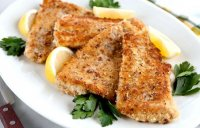 Baked pecan crusted fish recipe