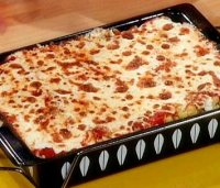 Baked penne recipe with cheese