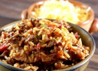 Baked spanish rice recipe bacon