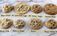 Baking powder in chocolate chip cookie recipe