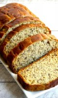 Banana bread recipe with yogurt instead of butter