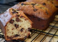Banana chocolate chip bread recipe low-fat