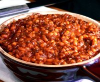 Bbq baked beans with ground beef recipe