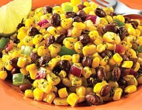 Bean salad with corn recipe
